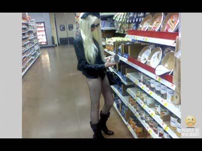 Забавные люди в магазинах