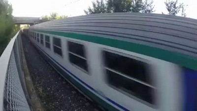 Another Idiot Lets A High Speed Train Pass Over Him Kid - Official Kora World