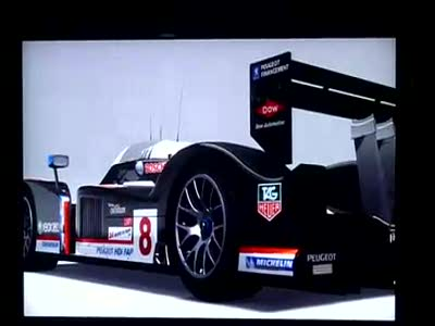 Forza Motorsport 3 Gameplay one Le Mans lap