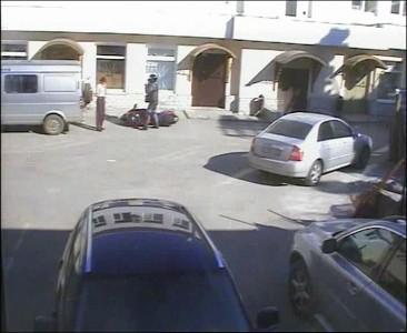 Как правильно парковать мотоцикл.