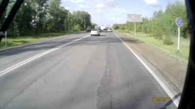 Авария на въезде в Казань