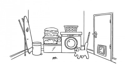 Washed Up - Simon's Cat
