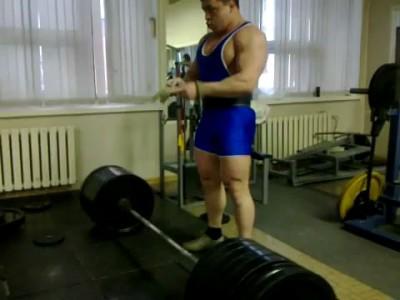 Архипов Юрий Тяга 390 до 93кг
