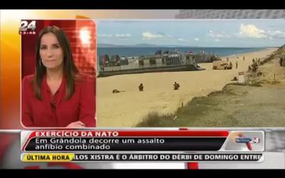 Корпус Морской пехоты США высадился в Португалии. Сильно не смеяться
