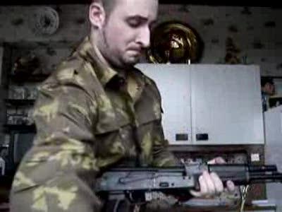 Демонтаж АК-74М