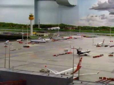NEU - Miniaturwunderland Airport Eröffnung! 04.05.2011