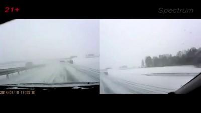Подборка Аварий и ДТП 14 01 2014.Car Crash Compilation 14 01 2014 HD