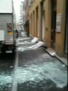 Eksplosjon i Oslo, Youngstorget - kaoset etterpå