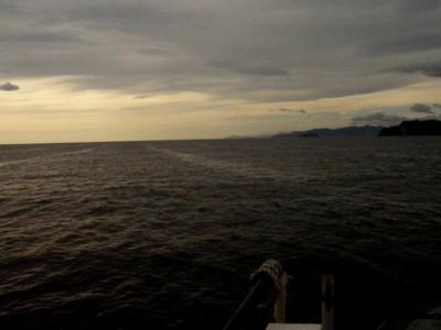 Выход в Тихий Океан