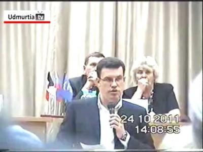 Денис Агашин подкупает пенсионеров