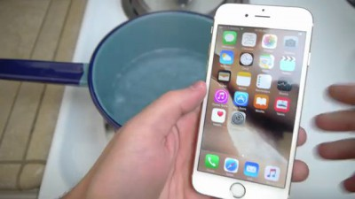 iPhone 6S Boiling Hot Water Test! Will it Survive?