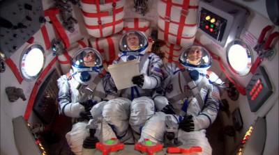 Теория большого взрыва, Говард летит в космос