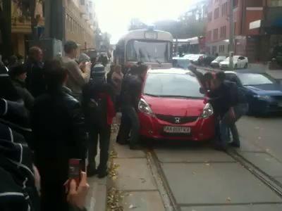ТП на трамвайном пути