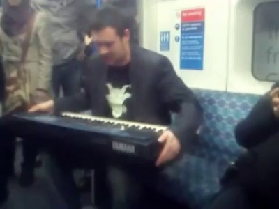 Beatbox in a Train