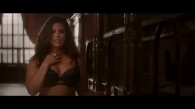 Ashley Graham stars in racy promo for Addition Elle lingerie
