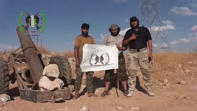 لواء صقور الجبل كتيبة المدفعية تدك عصابات الاسد بقذائف جهنم