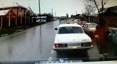 Невнимательный полицейский спровоцировал ДТП