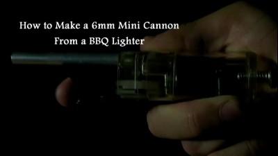 Как сделать мини-оружие