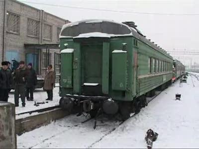 Краштест поезда