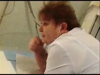 Пьяная врач омской больницы
