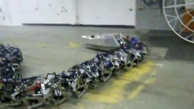Робот-змея и механический паук