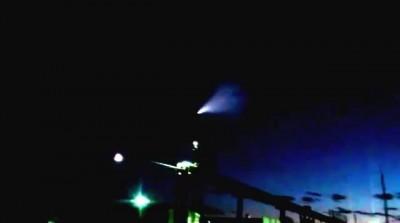 Метеорит(?) в Тюмени