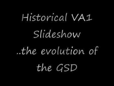 Historical German Shepherd VA's, the German Shepherd evolution