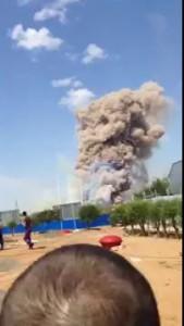 Взрыв на полигоне Ашулук Астраханская область 20 июня 2016