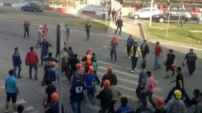 В Москва-Сити произошла массовая драка гастарбайтеров