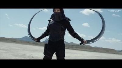 Бой в пустыне