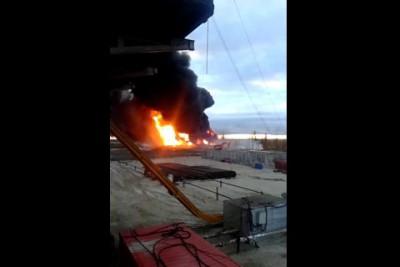Как горит газ