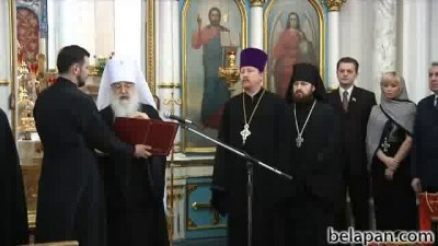 Поздравление митрополита Филарета с рождеством