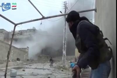Сирия, из танка по алькаиде