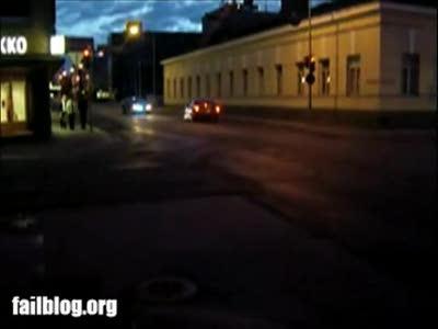 Street Racing Fail
