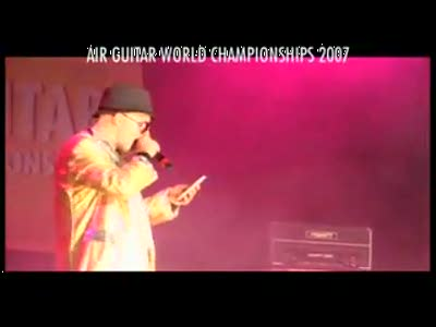 AIR GUITAR WORLD CHAMPIONSHIPS 2007 - Ochi Dainoji Yosuke
