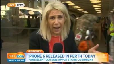 Первый покупатель айфона-6 разбил его сразу после покупки