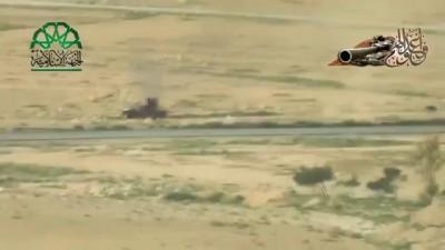 Война в Сирии, 2014 г. Атаки МИГ-29 и МИГ-23 ВВС Сирии