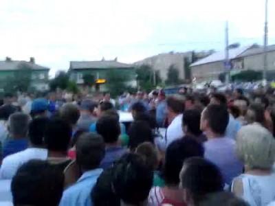 Митинг г. Пугачев