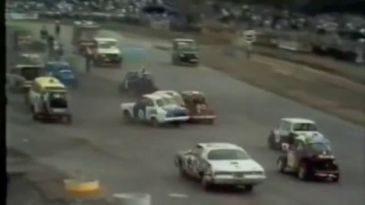 Car racing - an unusual car race