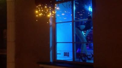 Танцующие задницы в окнах Минска. Центр.