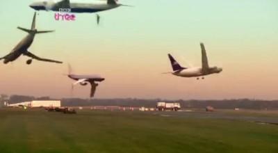 Разгон самолетов