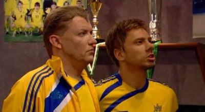 Украина-Англия 10:9 Евро 2012 (пародия)