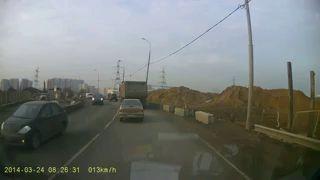 Провал на дороге