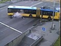 Мотоцикл против троллейбуса