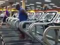 Dance on a treadmill/Танец на беговой дорожке