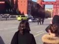 Полиция и эвакуатор устроили погоню на Красной площади