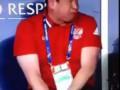 Слуцкий во время игры сборной России на Евро 2016