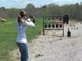 Девушка меткий стрелок