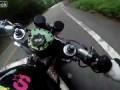 Падение мотоциклиста