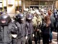 Эвакуация охраны мэрии в Киеве